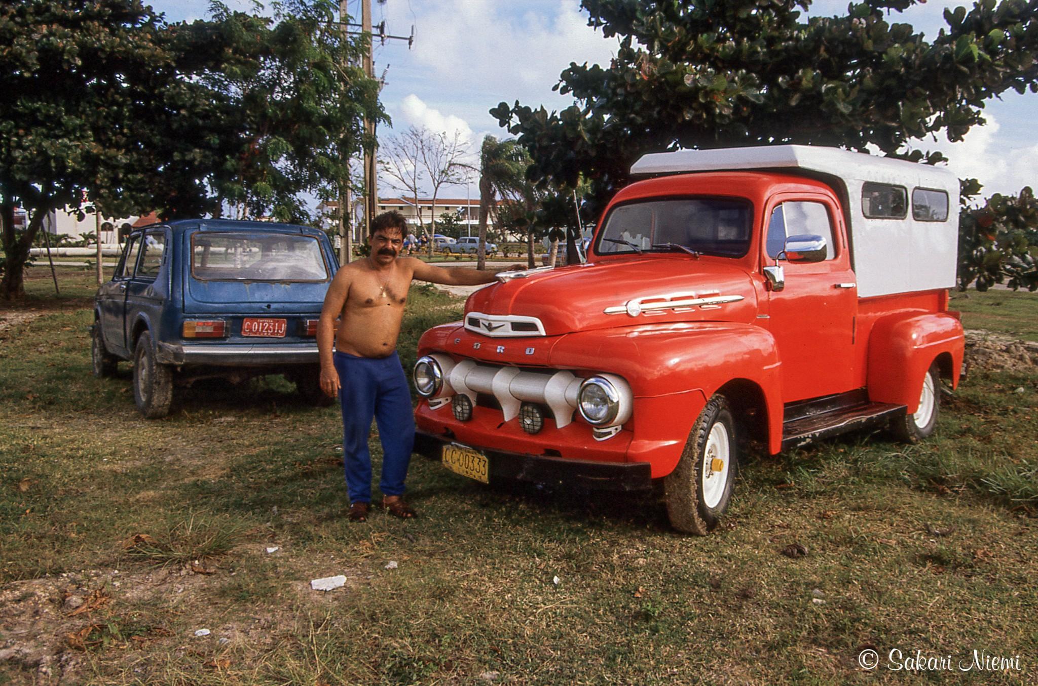Kuuba 1951 52 Ford Pick Up Cu252732 Santa Luciassa Camageyssa